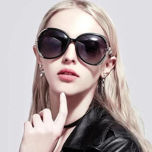 Resin Fashion Wrap Sunglasses