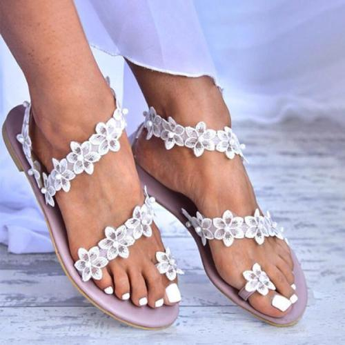 Women's simple casual flat sandals