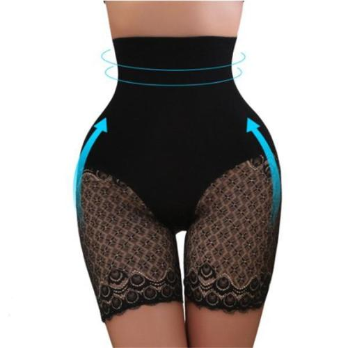 3XL EMBROIDERY HIGH WAISTED TUMMY CONTROL HIP LIFTING HIPS