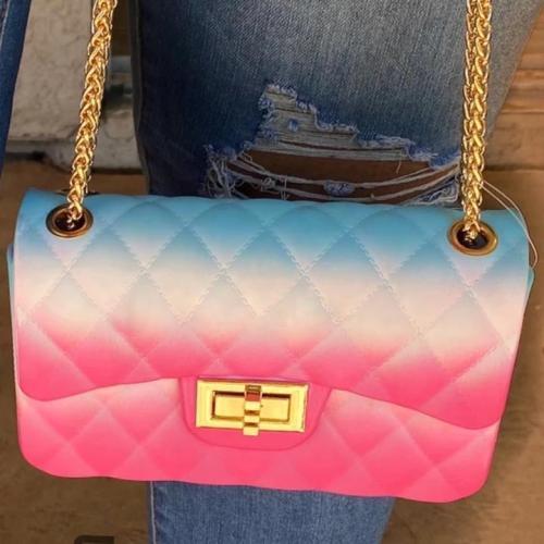 Special Offer-Women Rainbow Color Shoulder Bag Handbag
