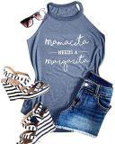 Women Halter Tank Tops Sleeveless Vest T-shirt