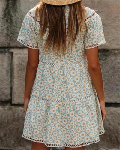 Daisy Chain Mini Dress