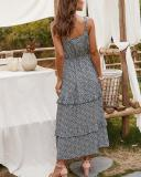 Boho Drawstring Sleeveless Maxi Dresses