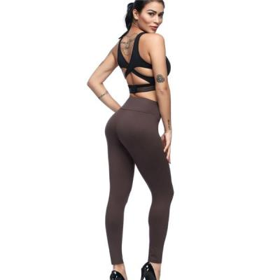 HIGH WAIST BRUSHED LEGGINGS WITH POCKET FOR LADIES