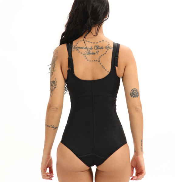 ZIPPER AND HOOKS SLIMMING BODY SHAPERS