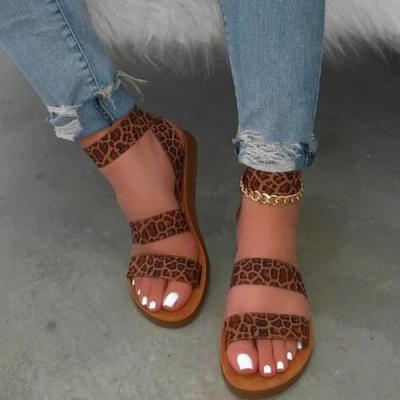 Summer Leopard Sandals