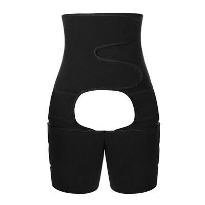 NEOPRENE HIGH WAIST SWEAT LEG BELT SPORTS PANTIES