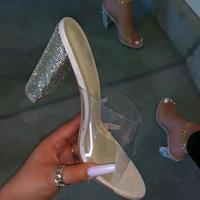 High Heel Platform Flop Slip-On Summer Slippers