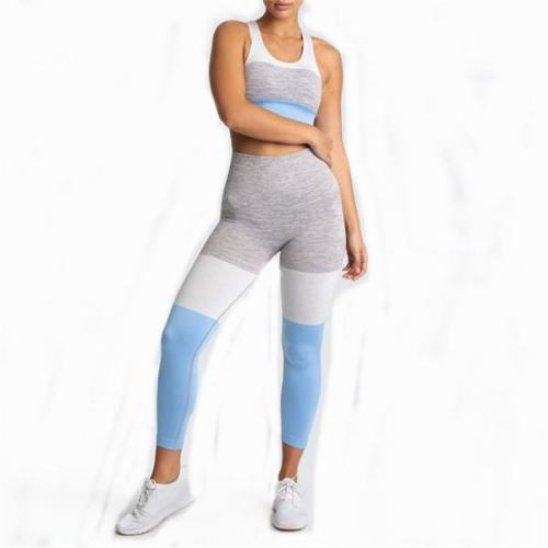 SEAMLESS KNITTED YOGA TIGHTS