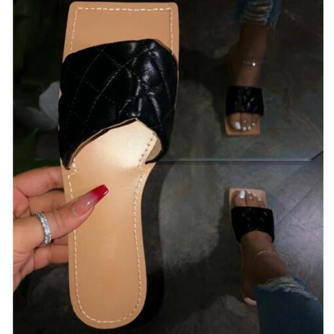 Open Toe Christelle Square Sandals
