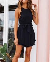 Hot Fashion Backless Mini Dress
