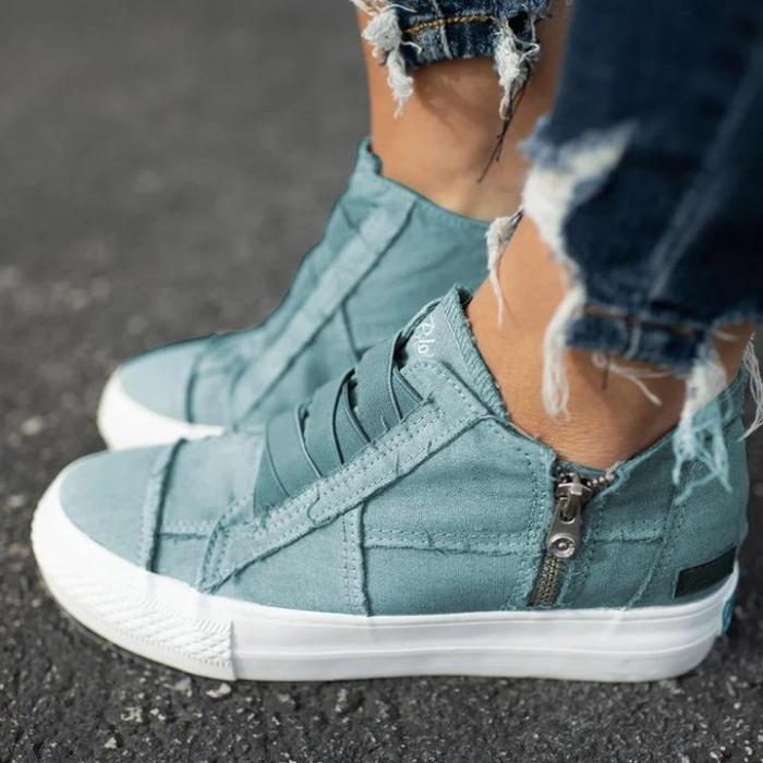 Low Heel All Season Sneakers