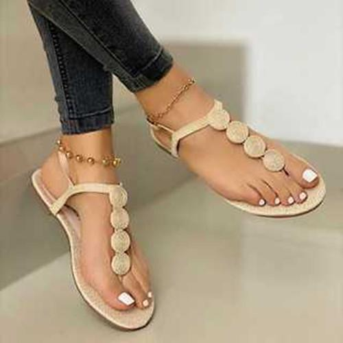 Women Summer Flat Heel Sandals