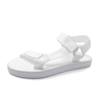 Women Fashion Asymmetric Design Flat Beach Sandals