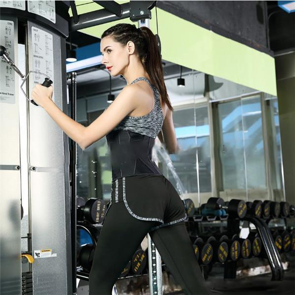 WOMEN SPORTS CORSET BREATHABLE RUBBER CORSET