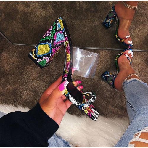 Summer New Open-toe High-heeled Sandals