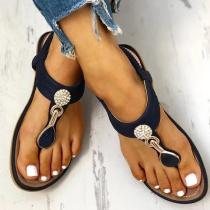 Women Summer Casual Slip On Comfy Sandals