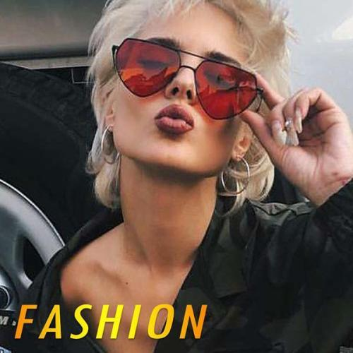 Poly Carbonate Wrap Fashion Sunglasses