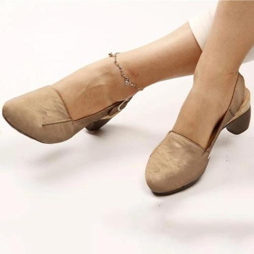 Comfortable & Steady Chunky Heel Sandals
