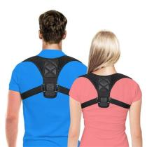 MEN & WOMEN POSTURE ADJUSTABLE CORRECTOR THERAPY BACK BRACE