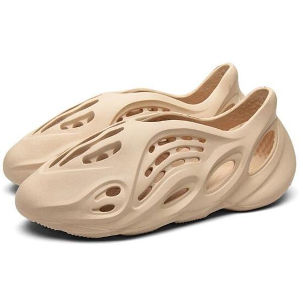 Summer Hollow Lightweight Casual Flat Slip On Hole Sandals For Women