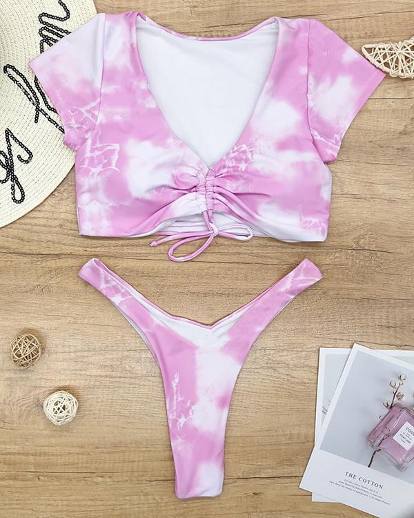 Beach Swimsuit Gradient Bikini