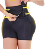 WOMEN BODY PANTS THREE BREASTED HIGHT WAIST BODYSUIT UNDERWEAR