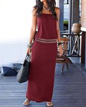Casual Vintage Bohemia Maxi Dress