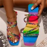 Female Square Toe Special Occasion Shoes