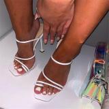 2020 New Elegant High Heel  Women slippers