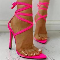 Women Sexy High Heels Sandals Shoes