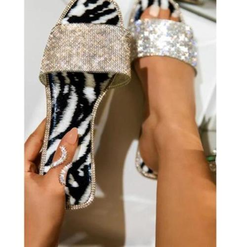 Summer Flat Peep Toe Casual Date Flat Sandals