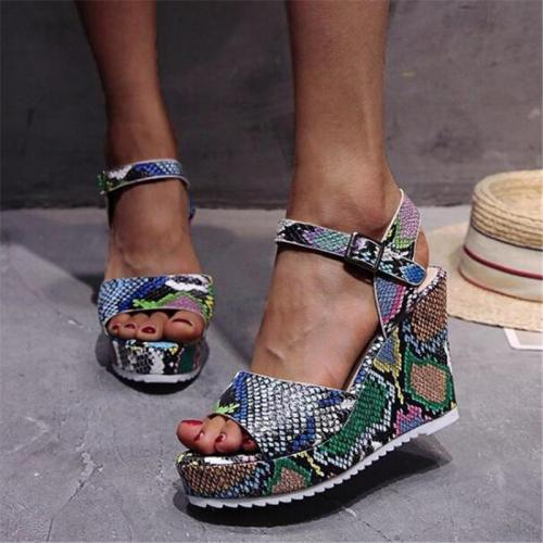 Women Espadrilles Daily Sandals Creepers Wedges