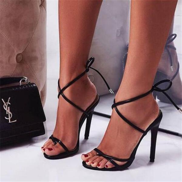 Women Fashion Open Toe High Heels Sandals Shoes