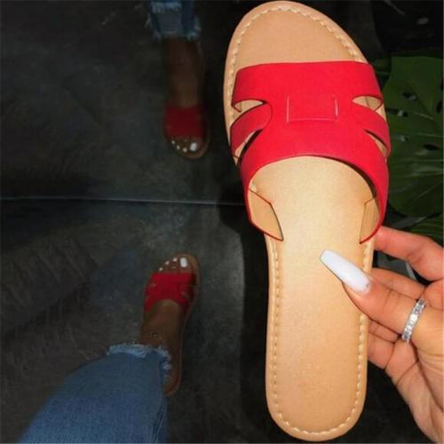 Flip Flop Thread Flat With Slip-On Casual Casual Slippers