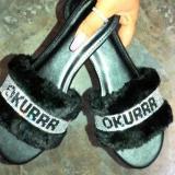 Women Fashion Holiday Slip On Flat Heel Sandals