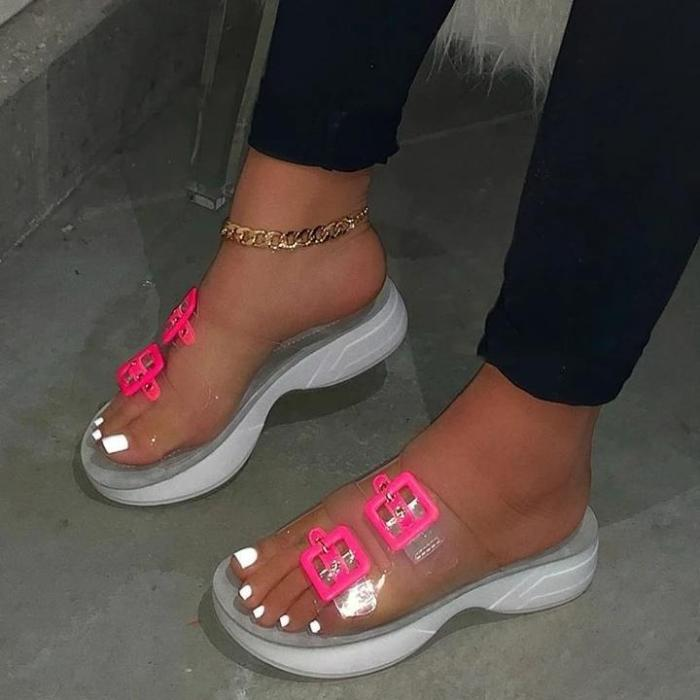 Women Casual Summer Home Wear Comfy Slip On Shoes