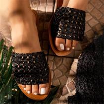 Fashion Leisure Knitted Slippers