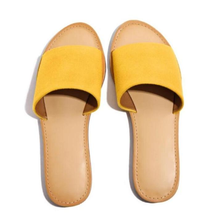 Women's casual and comfortable outdoor slippers