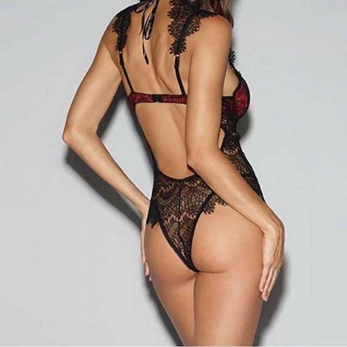 FASHION SEXY LACE LINGERIE BODYSUIT