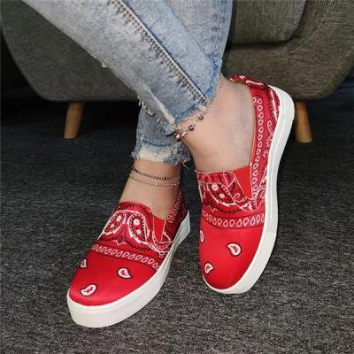 Women Satin Loafers Casual Shoes Sneaker