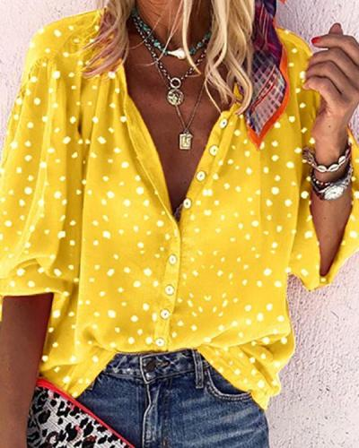 Women Printed Vintage Shirts & Tops