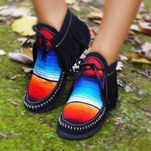 All Season Flat Heel Casual  Boots Sneakers