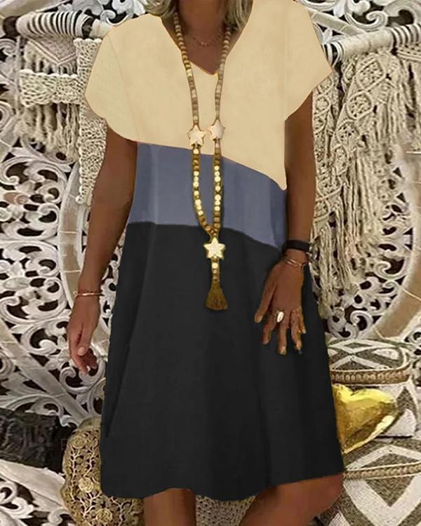 Women's Shift Dress Knee Length Dress