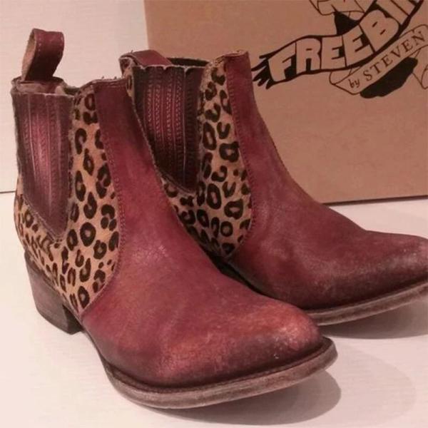 Date Mid-Calf Block Heel Boots