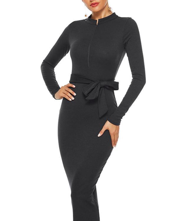 Knitted Jumper High Low Hem Designer Clothes Fashion Essential