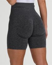 Yoga Shorts Fitness Seamless Tummy Control Gym Shorts