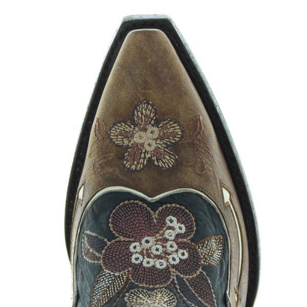 Women Retro Slip On Pointed Toe Boots