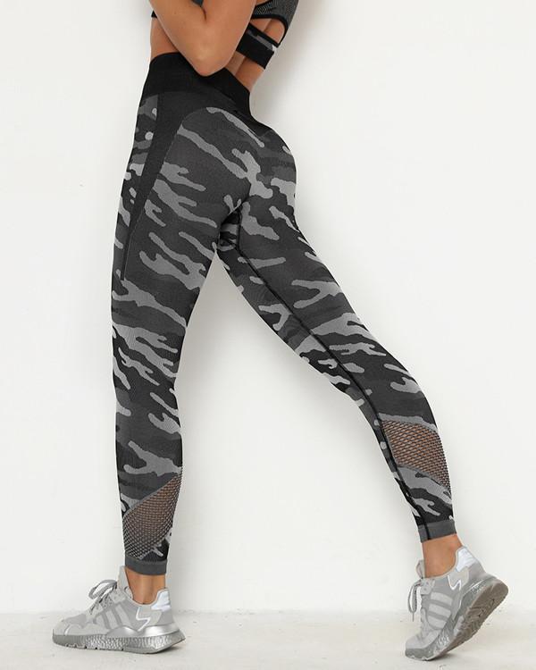 Ultimate Printed Jacquard Yoga Pants