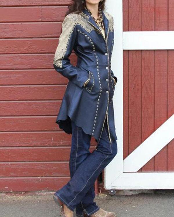 Women's Daily Vintage Coat